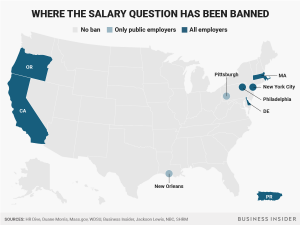 ApplicantStack - Salary Question Ban Map