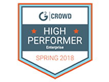 g2 high performer spring 2018 badge