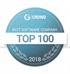 g2 top 100 2018 badge