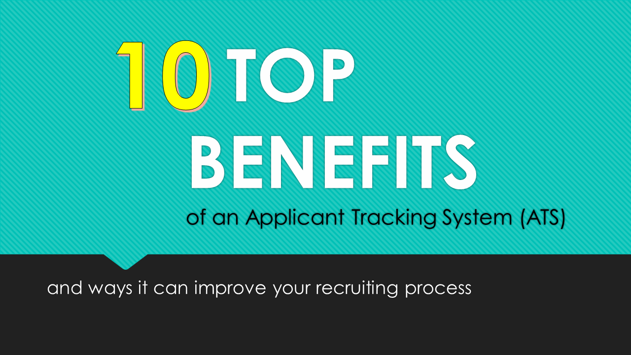 Benefits of an Applicant Tracking System