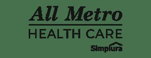 all metro health care logo
