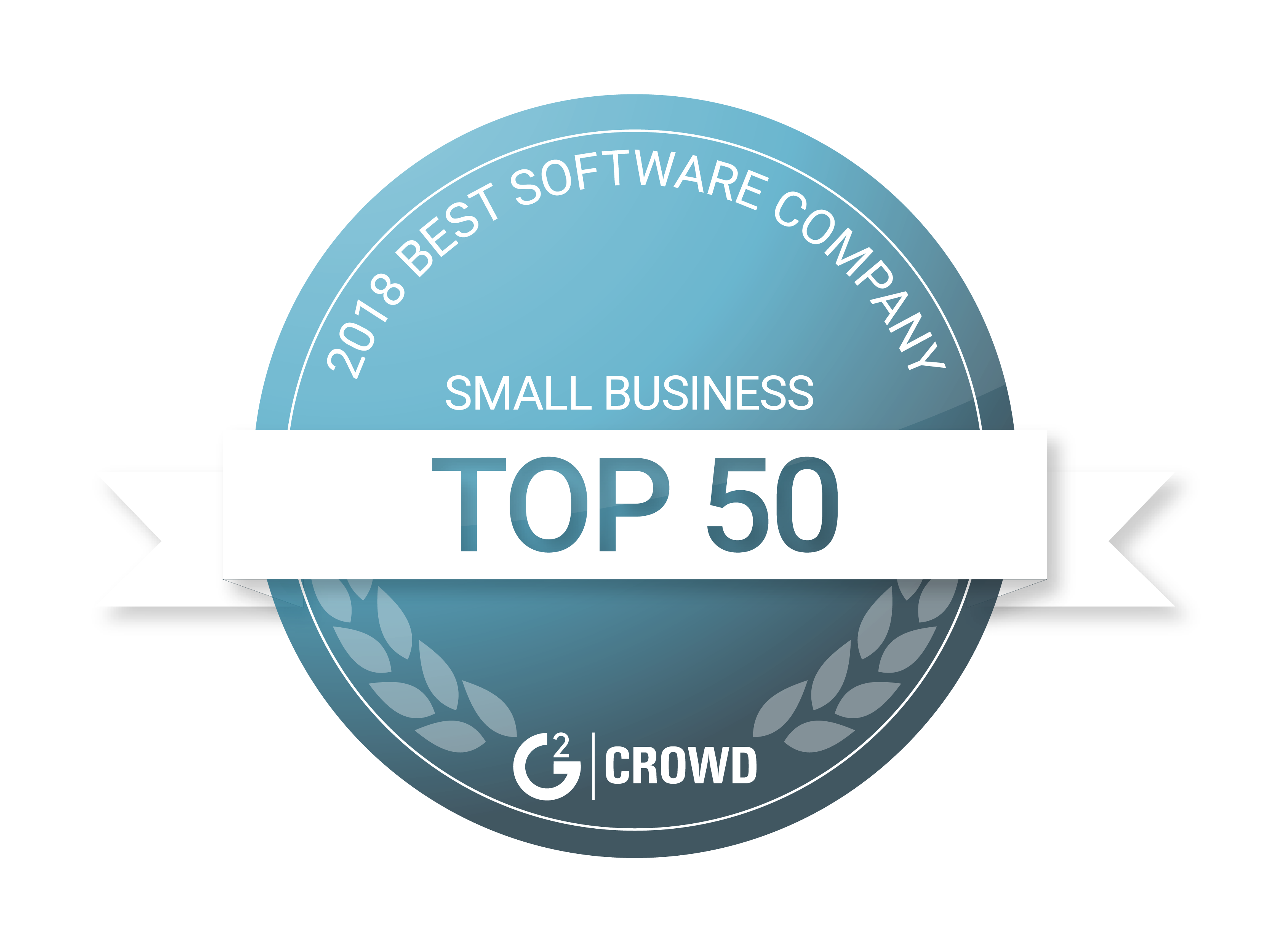 g2 crowd top 50 badge