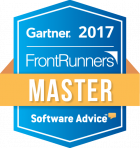 gartner frontrunners badge