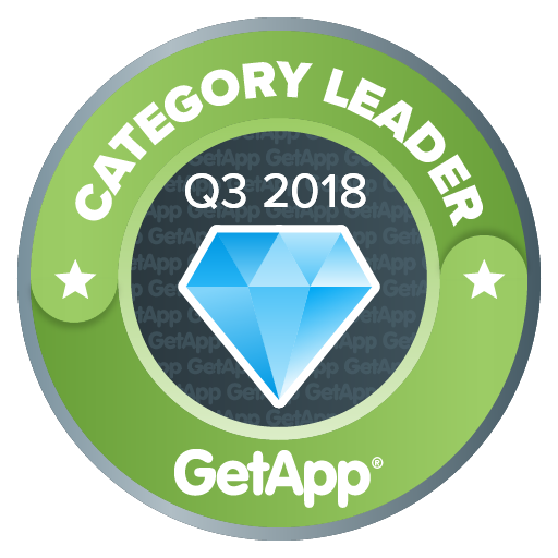 GetApp category leader badge
