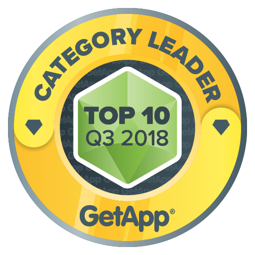 GetApp top 10 badge