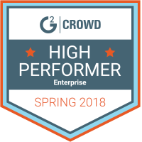 G2Crowd High Performer Spring 2018