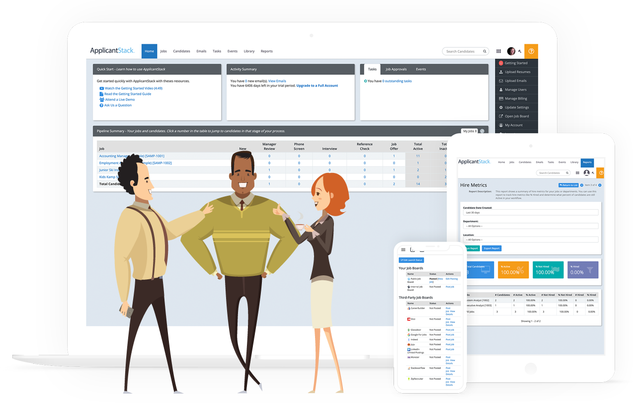 Applicant Tracking System Hr Software Applicantstack
