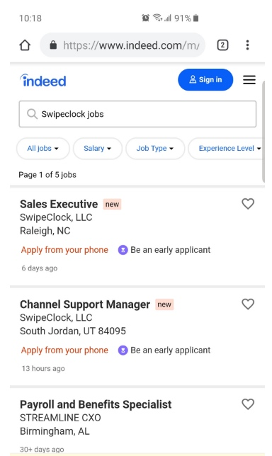 ApplicantStack applicant journey